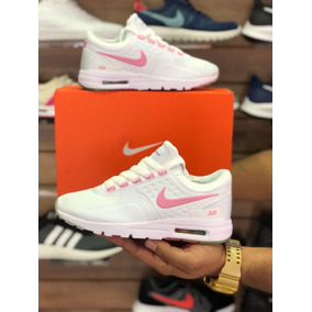 New Arrivals Mujeres Nike Air Max Zero Blanco Rosado D06dc 99eb1
