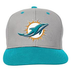 Nfl Miami Dolphins Boys Youth Equipo Flatbrim Gorra Sombrero 964d9dc4715