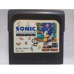 Fita Game Gear Sonic The Headgenhog Sega