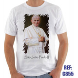 Camisa São João Paulo Religiosa Igreja Católica Papa