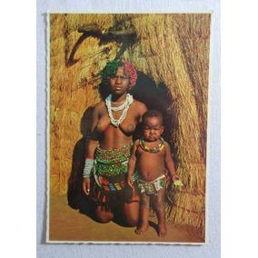 Cartão Postal Indigena Africana