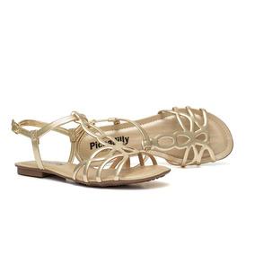 c19f3c90d Sandalia Rasteira Fechada Atras Feminino Piccadilly - Sapatos no ...