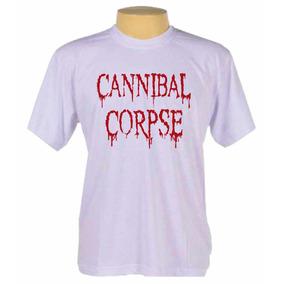 Camiseta Camisa Cannibal Corpse Banda Death Metal ed63c7e1bbd
