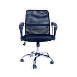 Cadeira Escritório Premier Office Giratória Preto - Facthus