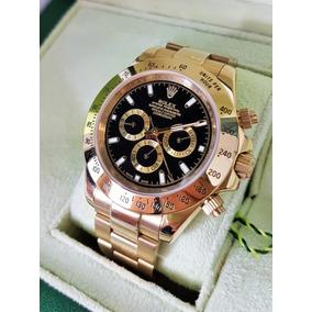 Relojes Rolex Daytona Automatico Solo Dorados Con Caja Msi