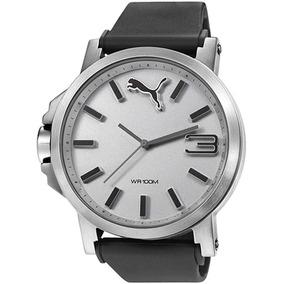 Puma Enpu102941007 Reloj Análogo Para Hombre, Color Plata, 5