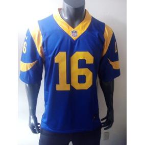 cf7a06243 Jersey Los Angeles Rams Jared Goff Mediana Adulto
