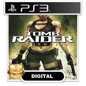 Tomb Raider Underworld Ps3 Psn Envio Hoje Midia Digital
