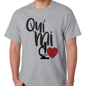 0ce072d29 Camiseta Química - Camisetas Manga Curta no Mercado Livre Brasil