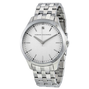 Reloj Armani Exchange Ax Ax2170 Plateado Original Nuevo