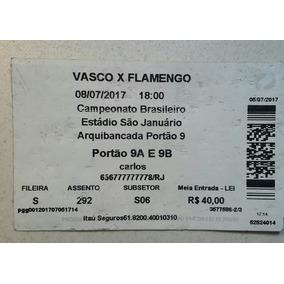 Ingresso Vasco X Flamengo - A Batalha De São Januário