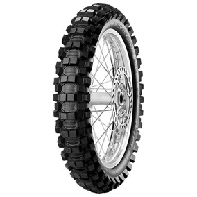 Pneu Moto Pirelli Aro 18 110/100-18 64m Traseiro Scorpion Mx