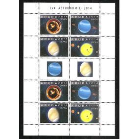 # Mcn # Aruba 2014 - Sistema Solar / Astronomia - Bloco Mint