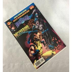 Gibi Importado - N.man X Wolverine #0 - Ago/1995 - Perfeita!