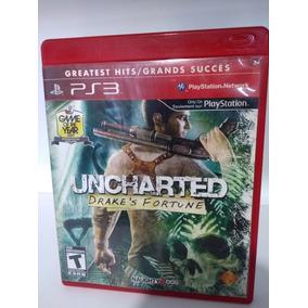 Jogo De Ps3 Fisico Uncharted Drake