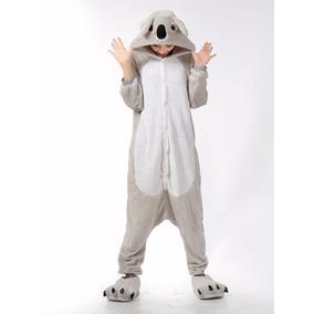 Pijama Tierna Adulto Unisex Cosplay Costume Koala Gris aab3634140a2