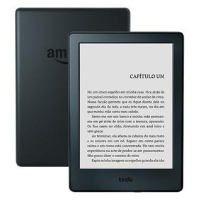 Novo Kindle 8ª Ger / Tela 6 / Wi-fi + Capa Preto + Película