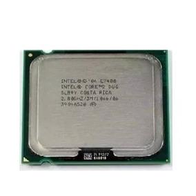 Intel Core 2 Duo, 2.8 Ghz, Socket 775. Processador