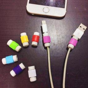 Par Protector Cable Cargador Usb Iphone Samsung Ipad Macbook