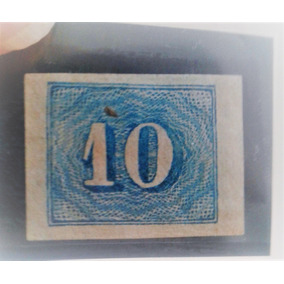 Arremate 1854 Rhm 19 10rs Azul Claro 116