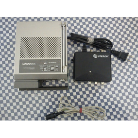 Rara Minitv Reloj Despertador Magnavox B/n Con Radio
