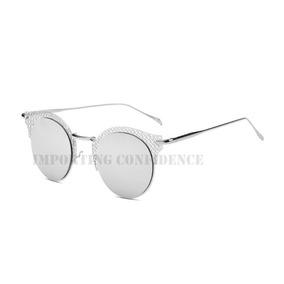 Oculos Sol Gatinho Espelhado Cinza - Óculos De Sol no Mercado Livre ... 3c9181cf6f