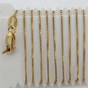 2ce926c4f7b Corrente Ouro 18k 52 Cm - Joias e Bijuterias no Mercado Livre Brasil