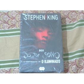 Box Stephen King - Doutor Sono + O Iluminado - Lacrado