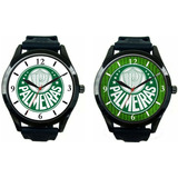 1d6fcc745dbf7 Kit 2 Relógios Pulso Masculino Palmeiras Barato Promoção
