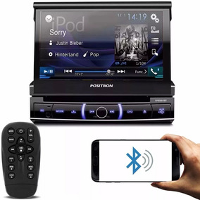 Dvd Player Automotivo Positron 1 Din Sp6330bt Bluetooth 7