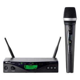 Micrófono Inalámbrico Profesional De Mano Akg Con Receptor