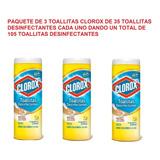 Clorox Toallitas Desinfectantes Aroma Fresco Tiene 105 Toall