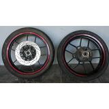 Cubiertas Mt 75 Pirelli Y Cst Con Llantas Aleacion Negras
