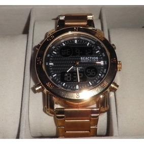 Reloj Caballero Marca Kenneth Cole En Aluminio Dorado