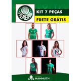 Camisa Palmeiras Kit Misto 7 Peças Frete Grátis