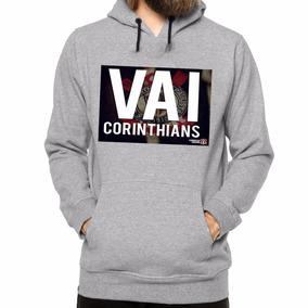 Blusa De Frio Do Corinthians Masculino - Moletom Masculino no ... 75a0a161f79f1