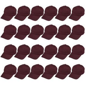6a004ecf57ad3 Gorras De Béisbol Juvale Llano - Conjunto De Algodón 24 P