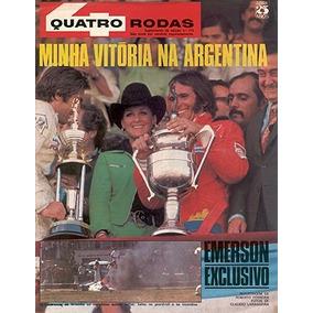 Suplemento 4r.174 Jan75- Emerson Fittipaldi - Gp Argentina