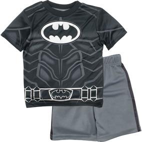 Camiseta Y Short Batman Para Niños Warner Bros