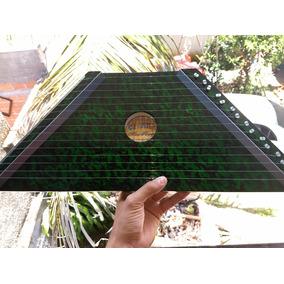 Mini Harpa Cítara Verde Nova 1ª+2ª Coletânea 20partituras