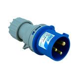 Ficha Industrial Macho 16a 2p + T Ip44 Sica 924001