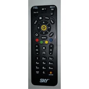 Controle Sky Hdtv O Único Original Rc65sb Zapper/slim