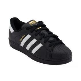 promo code 2fb25 7f1b5 Tenis adidas Superstar Negros Con Blanco Hombre, Zapatillas.