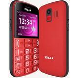 Celular Blu Joy J010 Dual Sim Tecla Sos Vermelho