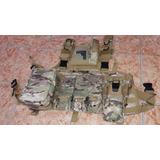 Chaleco Militar Tactico Para Air Soft Y Paintball Multicam