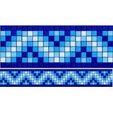Cenefa De Mosaico Veneciano Tribal-01