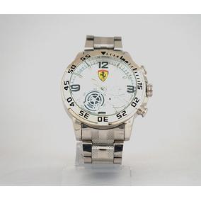 Relógio Ferrari Prata