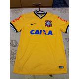 Camisa Corinthians Caixa Amarela M Na Etiqueta 700c86892b4bc