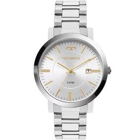 Relogio Technos Feminino Prata Perolado - Relógios no Mercado Livre ... b29bb73a7d