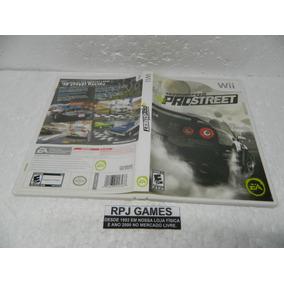Need For Speed Pro Street Original Completa P/ Wii - Loja Rj